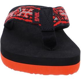 Teva Mush II Sandalen Kinderen rood/zwart